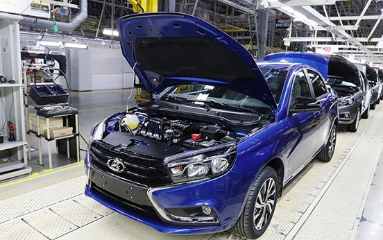 Lada vesta с конвейера купить фольксваген транспортер бу в курске или области на авито